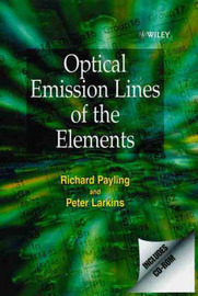 Optical Emission Lines of the Elements by P. Larkins image