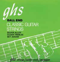 GHS Classical Guitar Strings Set (Ball End)