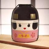 Kokeshi Bento Snack Boxes (Maiko)