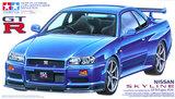Tamiya Nissan Skyline GT-R V-Spec R34 1/24 Kitset Model