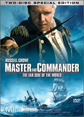 Master And Commander: The Far Side of the World (Two Disc) on DVD