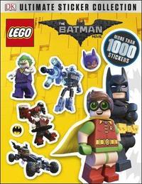 The LEGO (R) BATMAN MOVIE Ultimate Sticker Collection by Pamela Afram