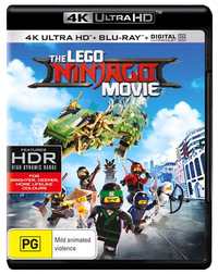 The Lego Ninjago Movie (4K Blu-ray + Blu-ray) on UHD Blu-ray