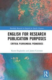 English for Research Publication Purposes by Karen Englander