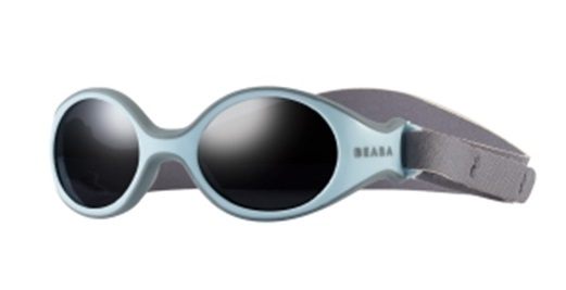 Beaba: Clip-Strap Sunglasses XS - Grey/Blue