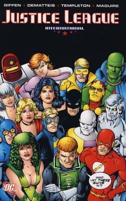 Justice League International: v. 4 by J.M. DeMatteis image