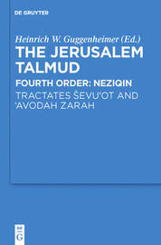 Tractates Sevu'ot and 'Avodah Zarah