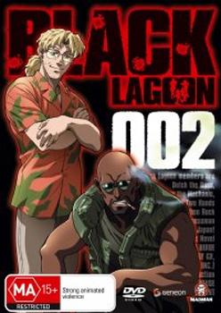 Black Lagoon V2 on DVD image
