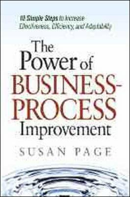 The Power of Business-Process Improvement by Susan Page