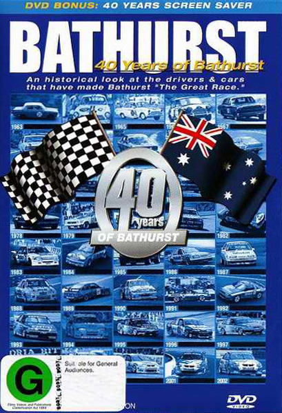 40 Years of Bathurst on DVD image