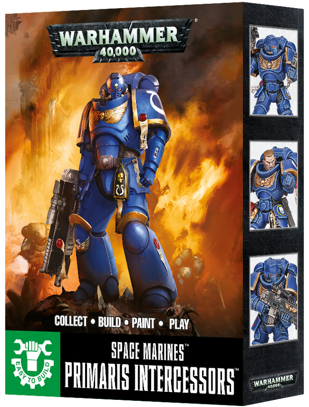 Warhammer 40,000 Easy to Build Primaris Intercessors