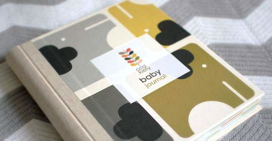 Orla Kiely - Baby Journal by Orla Kiely image