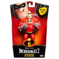 Incredibles 2: Chain Bustin' Mr Incredible - 15cm Feature Figure