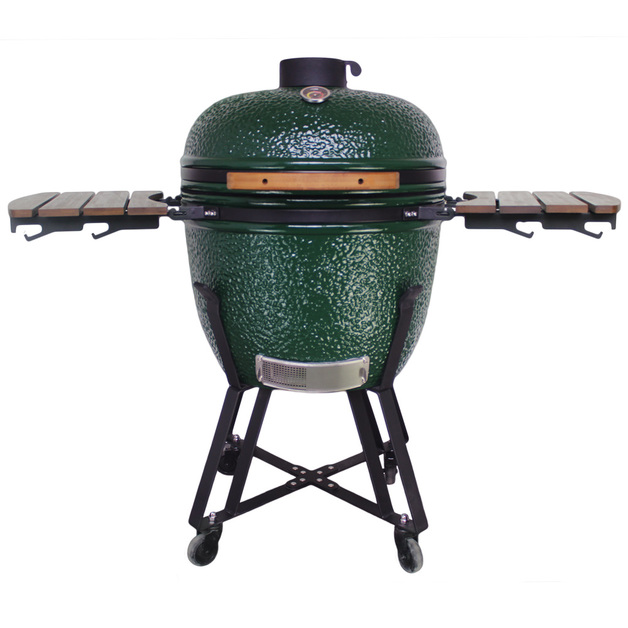 "Gorilla: Kamado Ceramic Grill BBQ (Green)   23.5"""