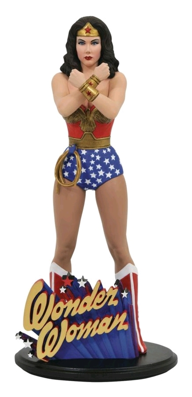 "DC Gallery: Wonder Woman (Lynda Carter) - 9"" Statue"