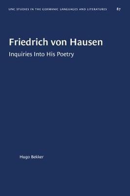 Friedrich von Hausen by Hugo Bekker