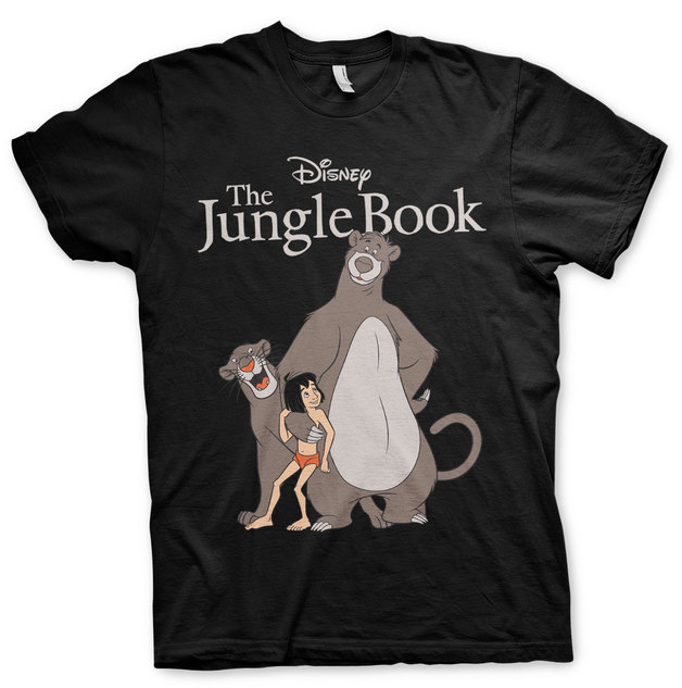 The Jungle Book T-Shirt - Black (XX-Large)