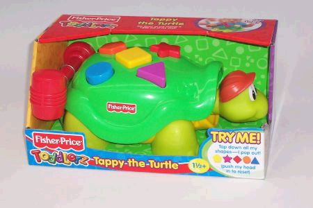 Fisher Price Tappy the Turtle image