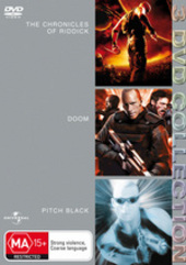 Chronicles Of Riddick / Doom / Pitch Black - 3 DVD Collection (3 Disc Set) on DVD