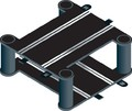 Scalextric Elevated Cross Over Track
