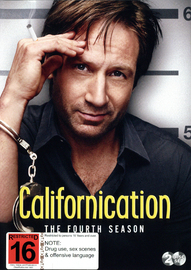 Californication - Season 4 on DVD