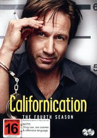 Californication - Season 4 on DVD