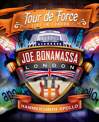 Joe Bonamassa Tour De Force: Live In London - Hammersmith Apollo - Rock N Roll Night on DVD