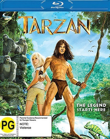 Tarzan on Blu-ray