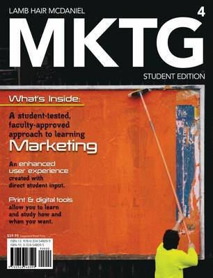 Mktg 2010, Student Edition (with Printed Access Card) by Carl McDaniel image