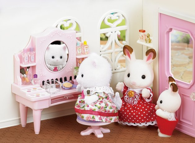 Sylvanian Families: Cosmetic Counter Set