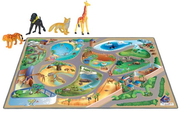 Zoo Playmat with Animals