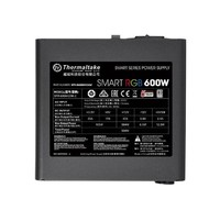 600W Thermaltake: Smart RGB Power PSU - 80 Plus; Non Modular; Fan Hub image
