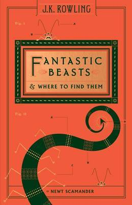 Fantastic Beasts and Where to Find Them (Hogwarts Library Book) by Newt Scamander image