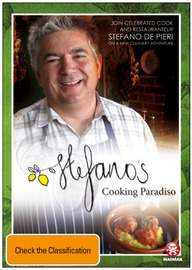 Stefano's Cooking Paradiso on DVD image