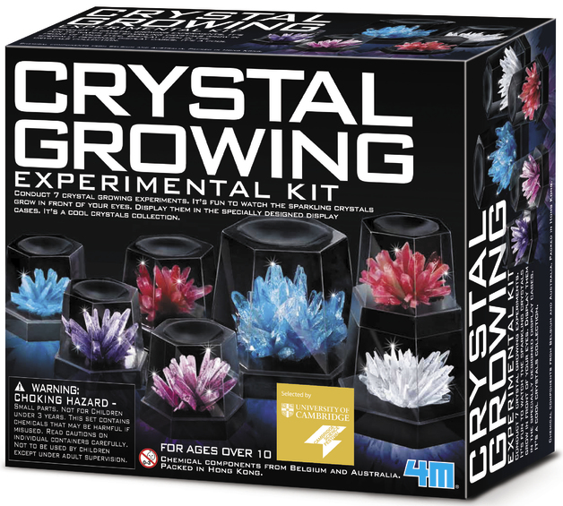 4M Science: Crystal Growing Experimental Kit