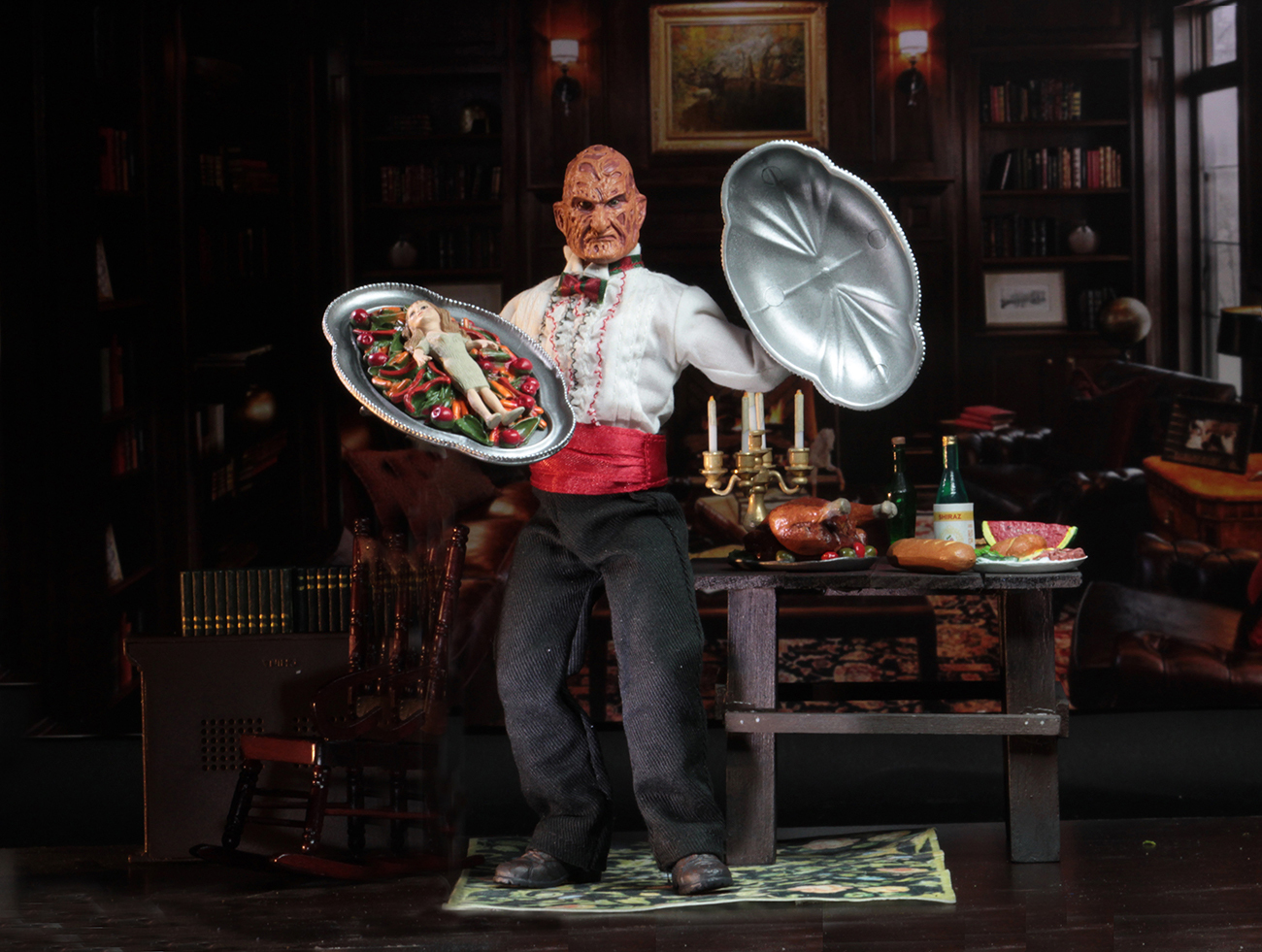"Nightmare on Elm Street: Chef Freddy - 8"" Action Figure image"