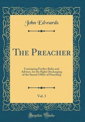 The Preacher, Vol. 3 by John Edwards