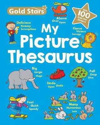 Gold Stars My First Picture Thesaurus by Sue Graves image