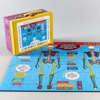 Floss & Rock: 130 Piece Puzzle - Skeleton