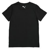 Silver Ferns Logo Youth Tee - Black (12 Yr)