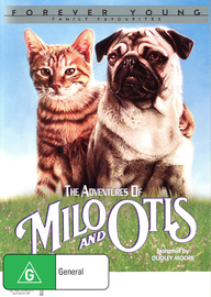 The Adventures of Milo and Otis on DVD image