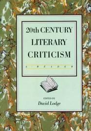 Twentieth Century Literary Criticism by David Lodge image