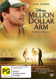 Million Dollar Arm on DVD