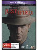 Justified - The Final Season DVD