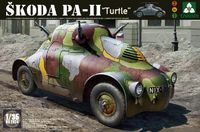 1/35 Skoda PA-II Turtle - Model Kit