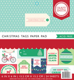 Craft Smith 6 x 6 Paper Pad - Christmas Tags