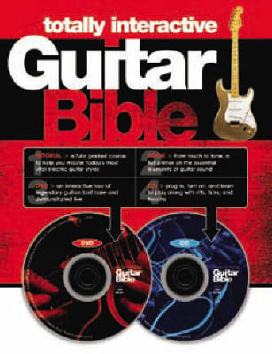 The Totally Interactive Guitar Bible by Dave Hunter image