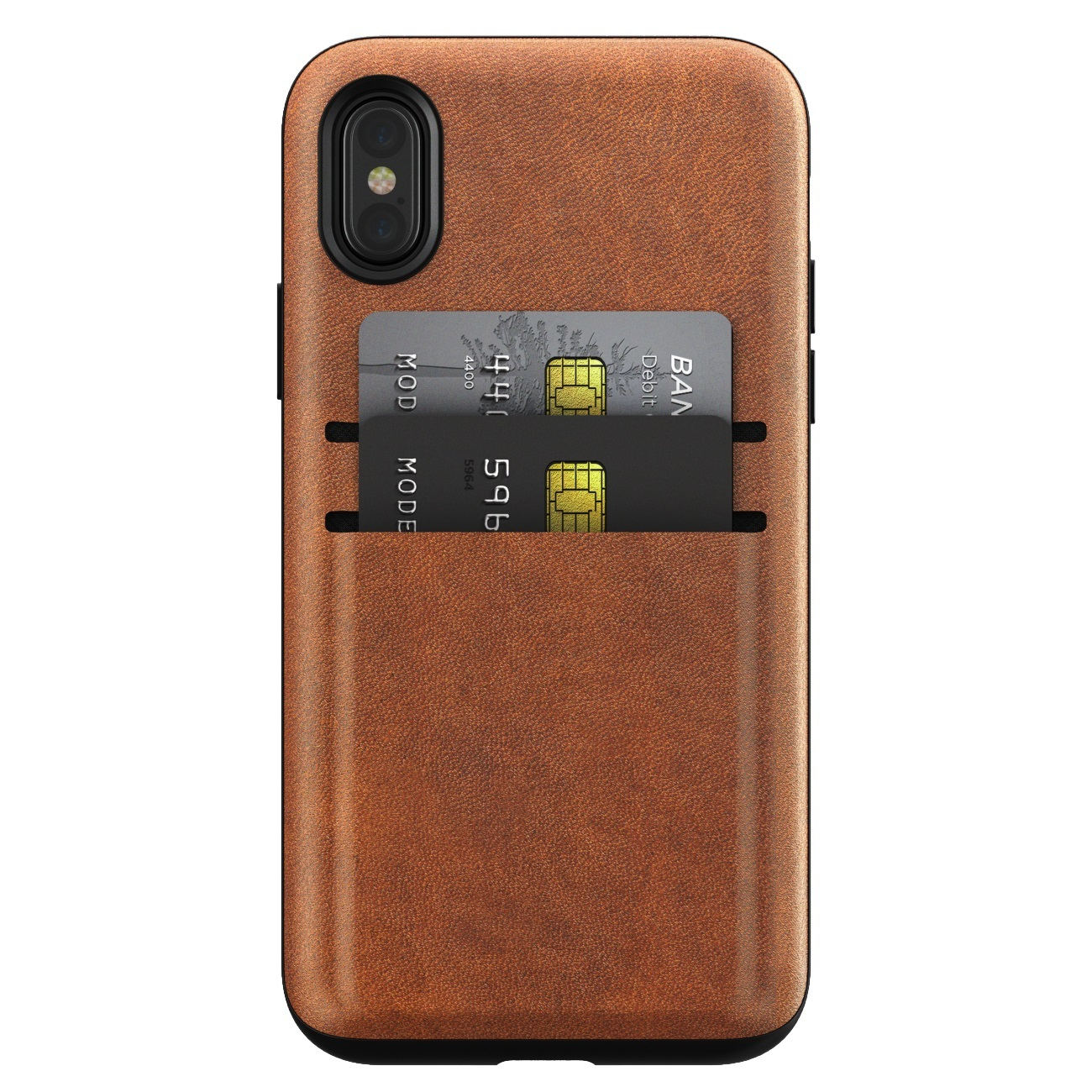 Nomad Leather Wallet Case - iPhone X/XS image