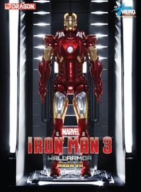 Marvel: Hall of Armour (Mark VII) - Vignette Model Kit