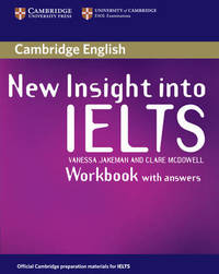 New Insight into IELTS Workbook with Answers by Vanessa Jakeman image